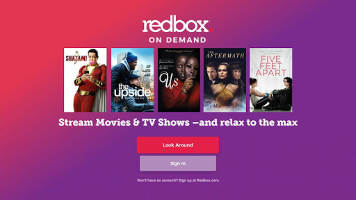 Redbox for Android TV 2.3.0.610 screenshots 1