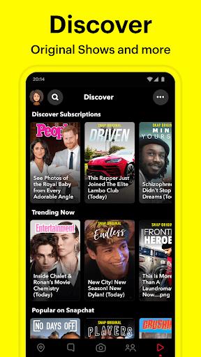 Snapchat 11.5.0.69 screenshots 5