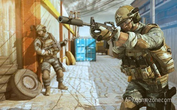 Frontline Fury Grand Shooter APK Mod