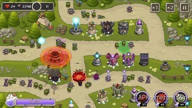 Tower Defense King : Money Mod APK