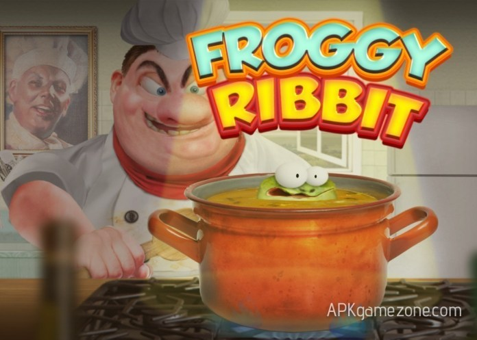 Froggy Ribbit: outrun the chef APK Mod