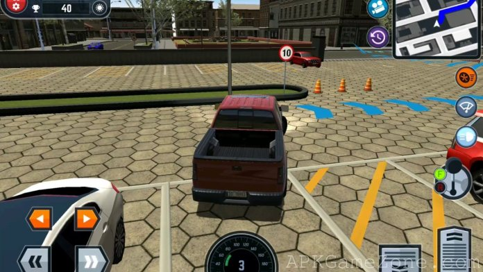 car driving school simulator argent mod t l charger apk apk game zone jeux android. Black Bedroom Furniture Sets. Home Design Ideas