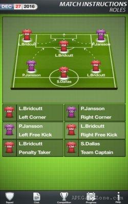 Football Director 17 Soccer APK Mod