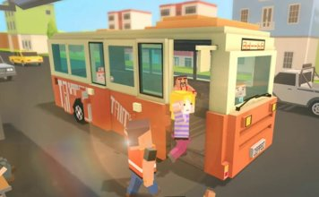 Mr. Blocky City Bus SIM APK Mod