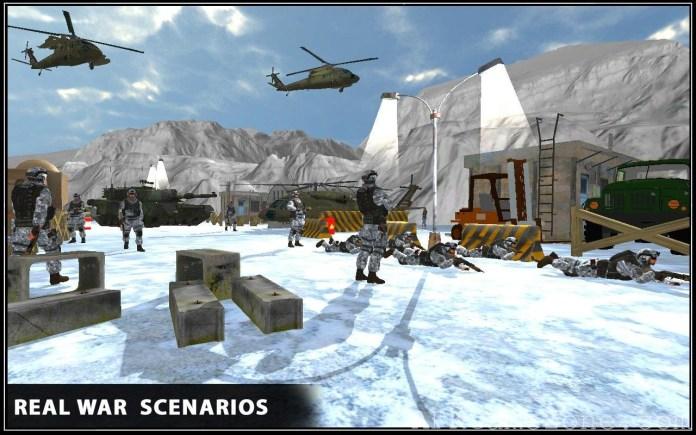 Snow War Shooter 2017 APK Mod