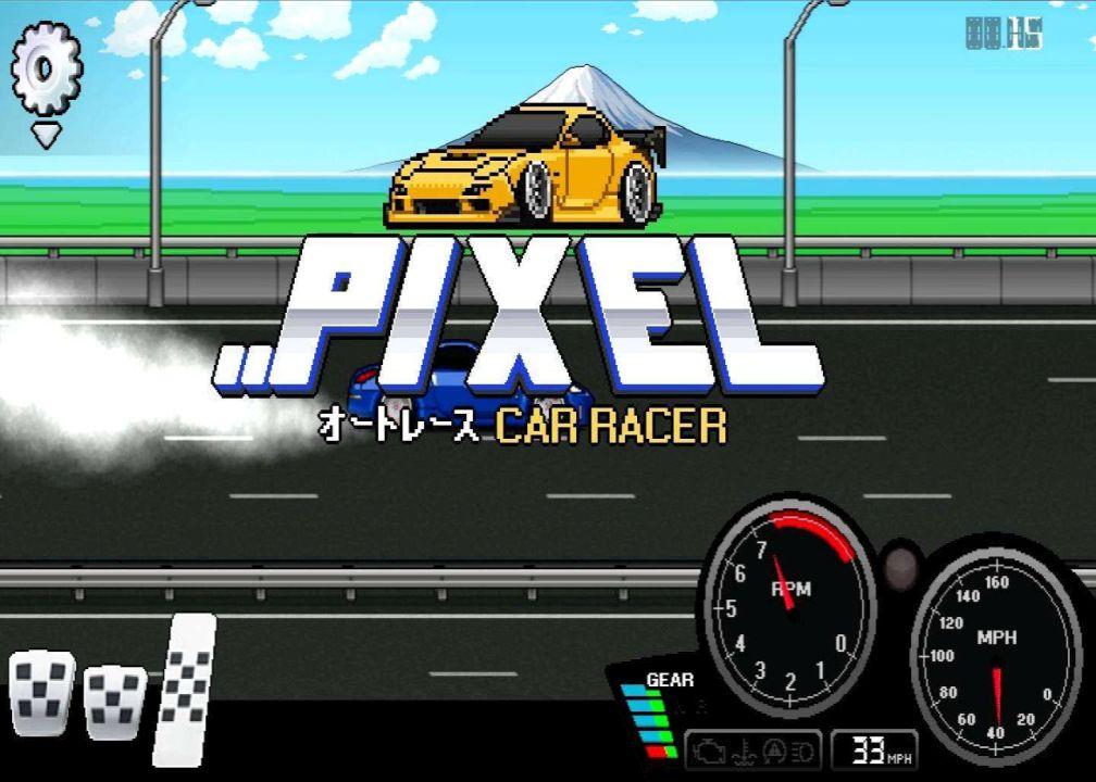pixel car racer vip
