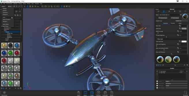 Luxion KeyShot Screenshot