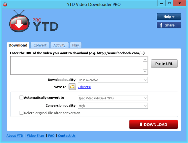 YTD Video Downloader Pro v7.0.2 Crack [Latest]