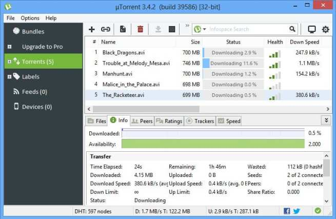uTorrent Pro v3.5.5 Build 45704 Crack Stable [Latest]