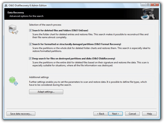 O&O DiskRecovery Admin/Technician Edition v14.1.145 + Serial Key [Latest]