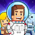 Rocket Star Idle Space Factory Tycoon Game V 1.45.0 MOD APK