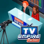 TV Empire Tycoon Idle Management Game V 1.0 MOD APK