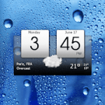 Digital clock & world weather Premium V 5.79.0.1 APK