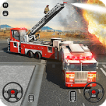 Fire Truck Driving School 911 Emergency Response V 1.7 MOD APK