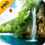 Forest Waterfall PRO Live Wallpaper V 2.6.0 APK Paid