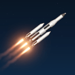 Spaceflight Simulator 1.50.06 Mod Infinity bahan bakar / Statistik dalam adegan Build & Game