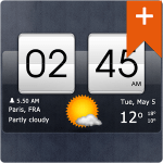 Sense Flip Clock Weather Pro 3.50.05 APK
