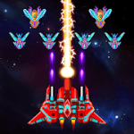 Galaxy Attack Alien Shooter 15.8 МOD (Unlimited Crystals + Money)