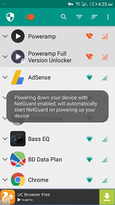 poweramp mod no root apk android