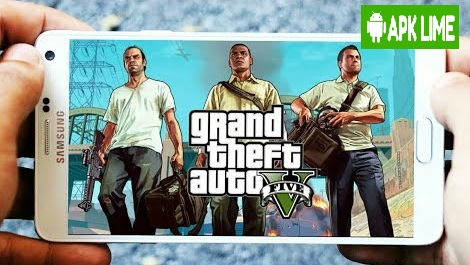 GTA 5 Apk+Data+Obb 2 6GB zip v1 8 MediaFire Download link (No survey)