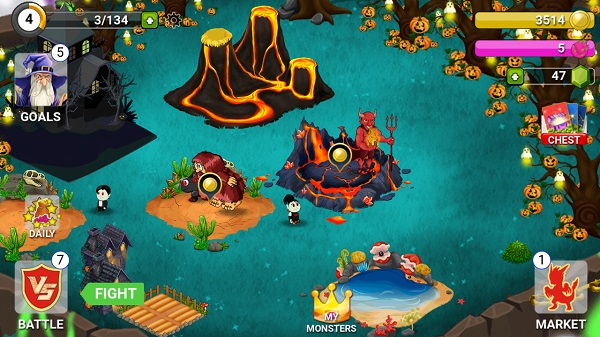 Halloween android 2017 games