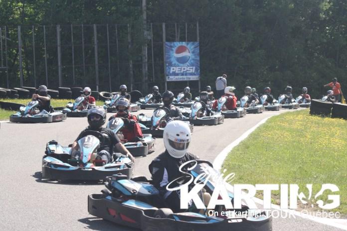 départ karting