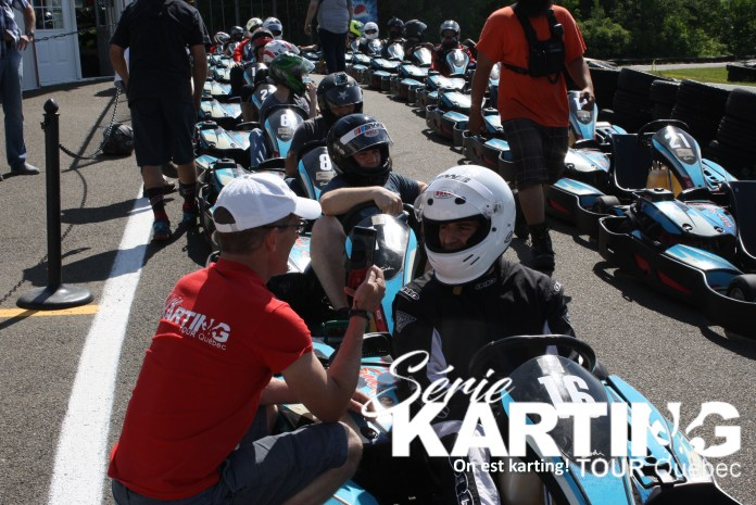 interview gagnant karting