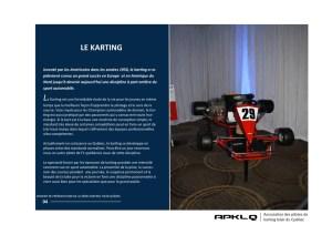 historique du karting par APKLQ