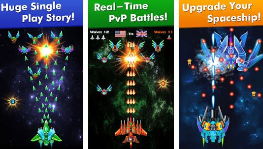 Galaxy Attack Alien Shooter v6.21 Mod Money Apk Free Download