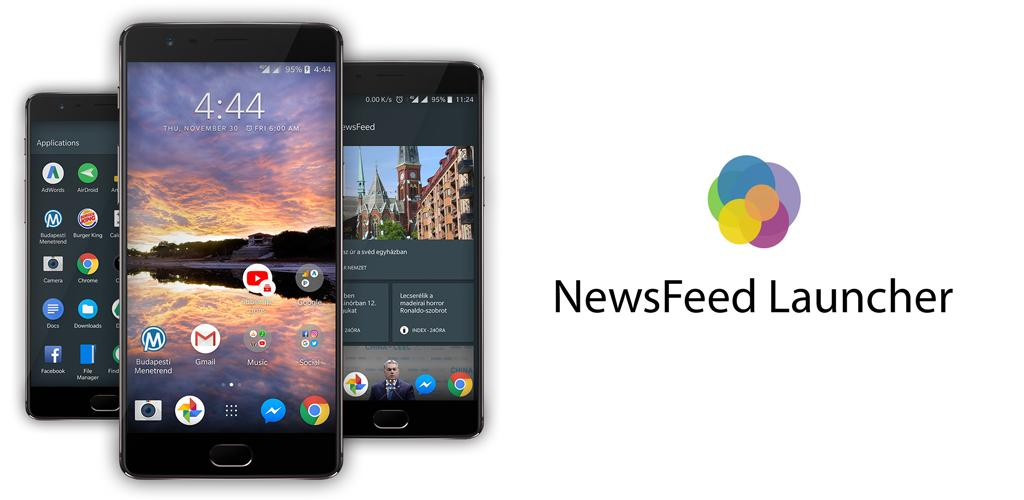 NewsFeed Launcher v5.5.436.beta [Paid] [Latest] APK