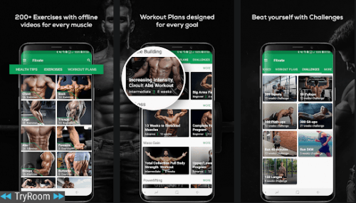 Fitvate Gym Workout Trainer Fitness Coach Plans V4 9 Mod Apkmagic