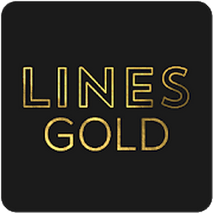 Lines Gold - Icon Pack