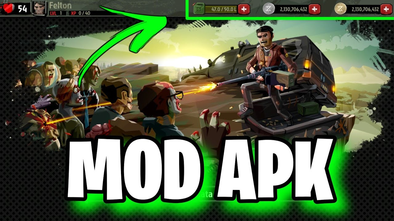 The Walking Zombie 2: Zombie shooter v3.4.2 Apk Mod ...