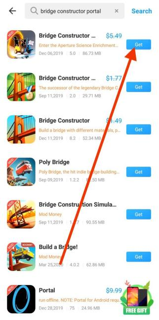 Bridge Constructor Portal Free APK