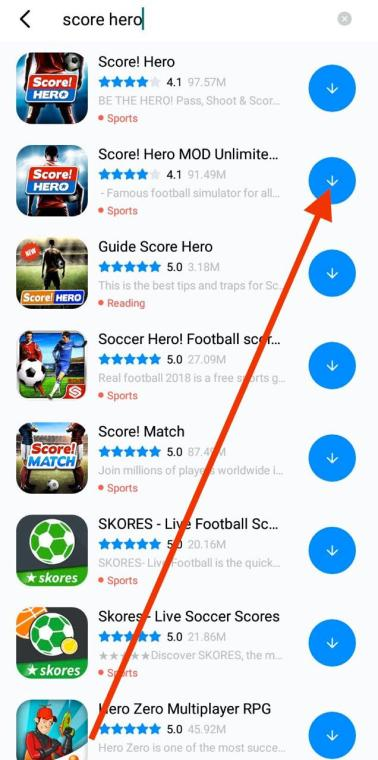 Score Hero MOD APK Download