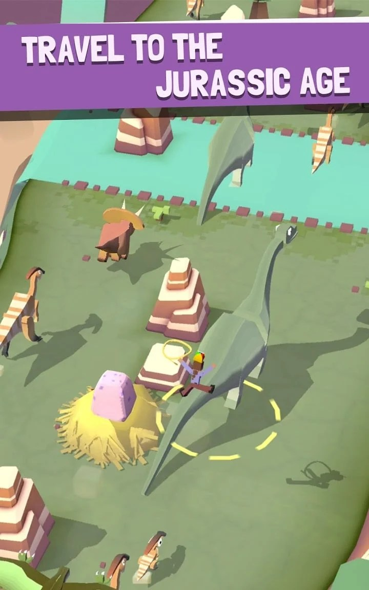Rodeo Stampede Jurassic Age
