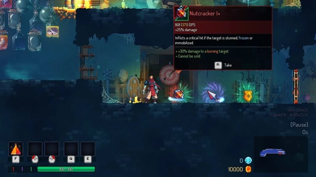 Dead Cells gameplay 1024x576