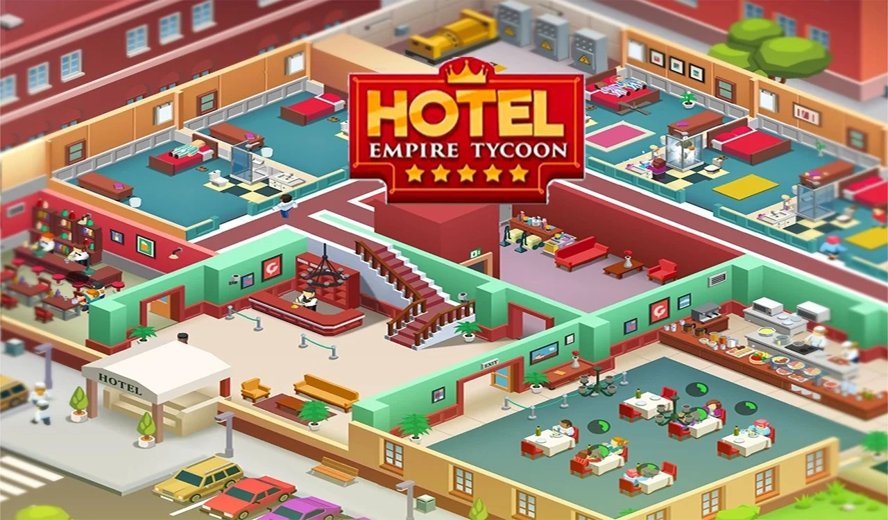 Hotel Empire Tycoon mod apk cover