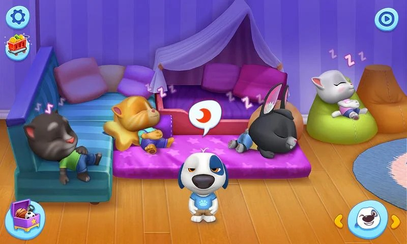 This image has an empty alt attribute; its file name is My-Talking-Tom-Friends-mod-apk.jpg