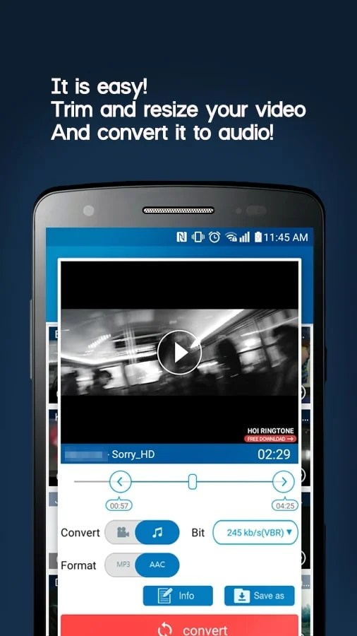 Video MP3 Converter for android