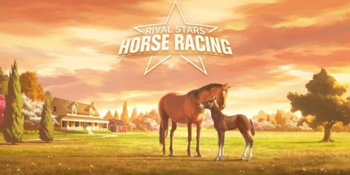 Rival Stars Horse Racing MOD APK cover 720x360