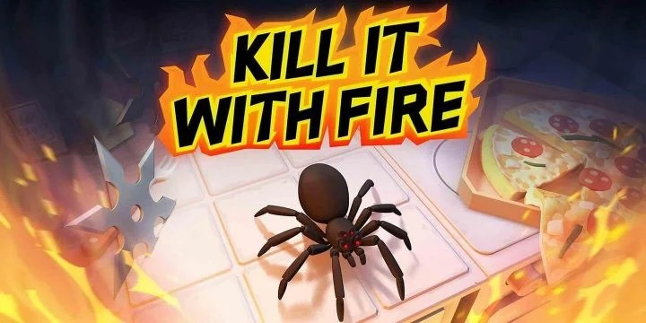 Kill It With Fire MOD APK cover 720x360