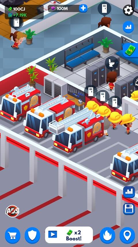Idle Firefighter Tycoon for Android