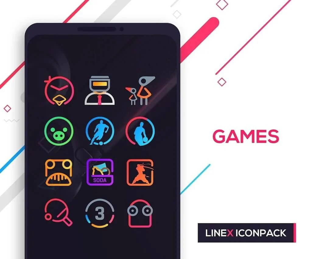 LineX Icon Pack free download