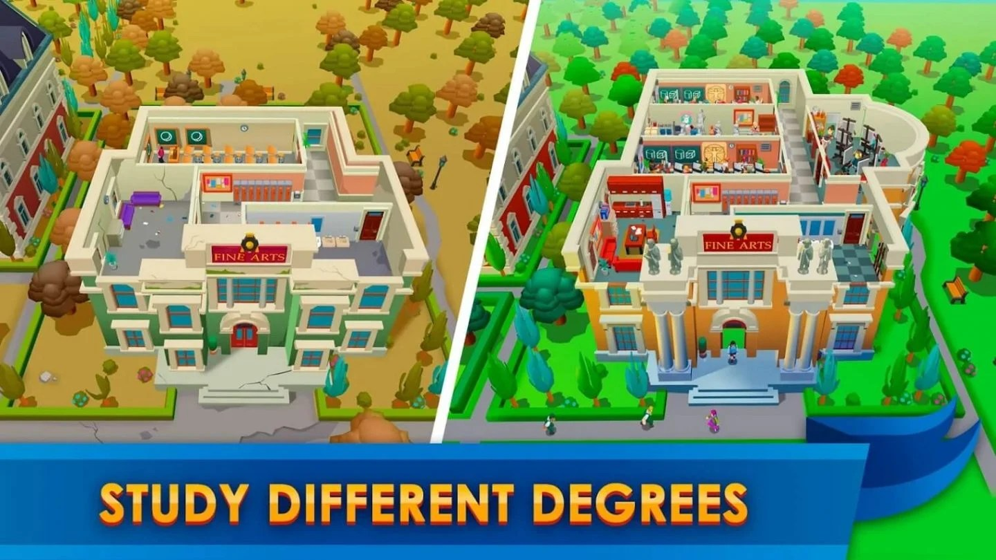 University Empire Tycoon for Android 1440x810