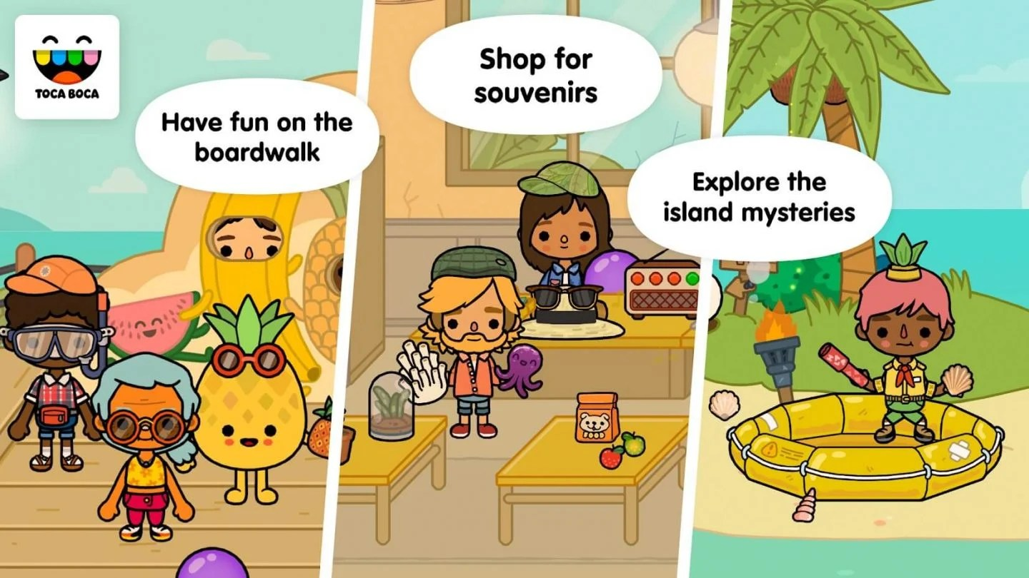 Toca Life Vacation for Android 1440x810
