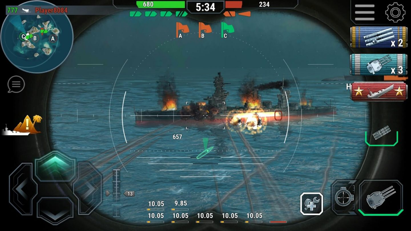 Warships Universe Naval Battle for Android 1440x810