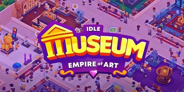 Idle Museum Tycoon MOD APK cover