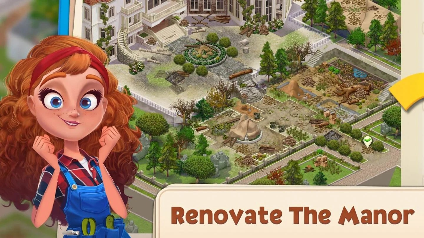 Merge Manor Sunny House for Android 1440x810