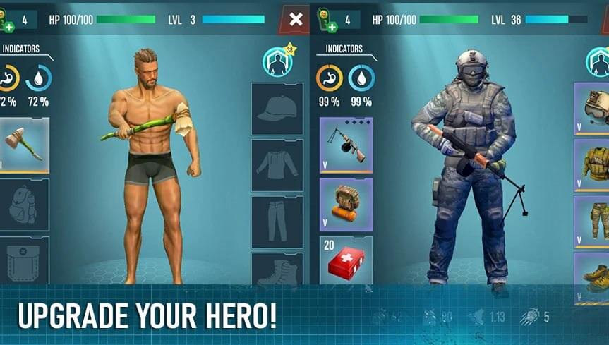 Survivalist invasion for Android